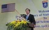 Mỹ-Việt Nam chia sẻ lợi ích trong việc đảm bảo an ninh ở Biển Đông