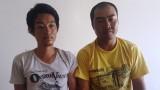 2 người Trung Quốc mang súng giả cướp ô tô táo tợn trên phố