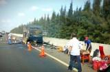 Thông tin tiếp vụ cháy xe trên tuyến cao tốc TP.HCM – Trung Lương