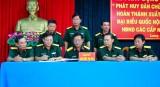 Lực lượng vũ trang Long An thi đua hoàn thành xuất sắc nhiệm vụ bầu cử