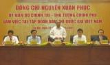 Thủ tướng Nguyễn Xuân Phúc làm việc với Tập đoàn Dầu khí quốc gia