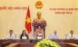 Khai mạc phiên họp thứ 47 Ủy ban Thường vụ Quốc hội khóa XIII