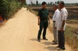 Long An: Đồn Biên phòng Tân Hiệp góp sức xây dựng nông thôn mới