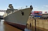Nga hạ thủy chiến hạm Gepard đóng cho Hải quân Việt Nam