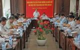 Đoàn giám sát của Ủy Ban Thường vụ Quốc hội làm việc với tỉnh Long An