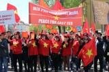 Biểu tình tại Séc phản đối Trung Quốc quân sự hóa ở Biển Đông