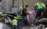 Người đàn ông 72 tuổi sống sót sau gần 2 tuần mắc kẹt sau động đất