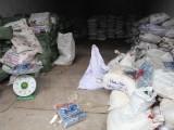 Bắt 9,7 tấn nguyên liệu bào chế thuốc Bắc nhập lậu từ Trung Quốc
