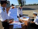Hai tàu hải quân xuất phát làm công tác bầu cử tại Trường Sa