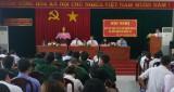 Kiến Tường: Ứng cử viên Đại biểu Quốc hội khóa XIV tiếp xúc cử tri