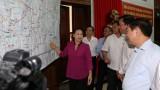 Bà Nguyễn Thị Kim Ngân khen Hậu Giang sáng tạo ra Bản đồ bầu cử