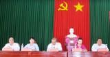 Ứng cử viên đại biểu Quốc hội khóa XIV tiếp xúc cử tri tại Bến Lức, tỉnh Long An