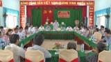 Long An: Bí thư Huyện ủy Cần Giuộc đối thoại với người dân Phước Lý