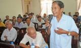 Long An: Ứng cử viên HĐND tỉnh tiếp xúc cử tri Đức Hòa