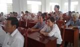 Nhiều vấn đề thiết thực được cử tri Châu Thành, Tân Trụ, Vĩnh Hưng tin tưởng, gửi gắm đến ứng cử viên ĐB HĐND tỉnh