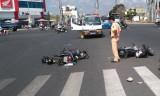 Tai nạn giao thông ngã tư Hùng Vương – QL1 (Tân An, Long An)