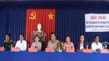 Ứng cử viên đại biểu HĐND tỉnh Long An tiếp xúc cử tri Đức Hòa