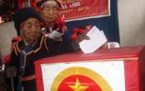 Bầu cử sớm ở Lai Châu diễn ra an toàn