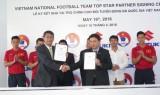Suzuki tài trợ cho đội tuyển bóng đá VN