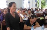 Ứng cử viên đại biểu HĐND tỉnh Long An tiếp xúc cử tri huyện Đức Hòa, TP.Tân An