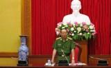Bộ Công an họp Ban chỉ đạo bảo vệ bầu cử Quốc hội khóa XIV