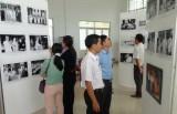 Tân Hưng: Triển lãm ảnh Chủ tịch Hồ Chí Minh với công tác bầu cử