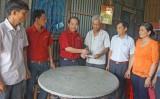 Cty TNHH Sản xuất Thương mại Bảo Bảo hỗ trợ hoàn cảnh khó khăn