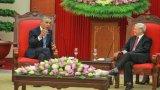 Tổng thống Mỹ Obama hội kiến Tổng bí thư Nguyễn Phú Trọng
