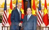 Thủ tướng Nguyễn Xuân Phúc gặp Tổng thống Hoa Kỳ Barack Obama