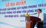 """Long An: Ra quân thực hiện """"Văn hóa giao thông với bình yên sông nước"""" giai đoạn 2016-2020"""