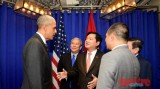 Tổng thống Obama gặp gỡ doanh nghiệp Việt Nam