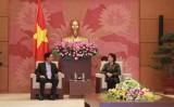 Chủ tịch Quốc hội đề nghị Trung Quốc xử lý tốt vấn đề Biển Đông