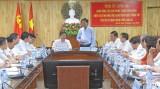 Thường trực Tỉnh ủy Long An làm việc với văn phòng Trung ương Đảng