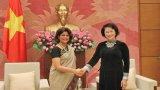 Chủ tịch Quốc hội tiếp Điều phối viên Liên hợp quốc tại Việt Nam