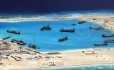 Trung Quốc hủy diệt các rạn san hô ở Biển Đông để xây đảo nhân tạo