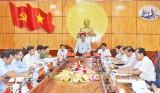 Ban Thường vụ Tỉnh ủy Long An cho ý kiến dự thảo Chương trình hành động thực hiện Nghị quyết Đại hội XII của Đảng