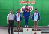 Long An vươn lên dẫn đầu với 34 huy chương vàng
