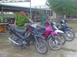 Châu Thành: Tóm gọn băng trộm xe môtô