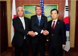 Các Bộ trưởng Quốc phòng Nhật-Hàn-Mỹ họp bàn về Triều Tiên