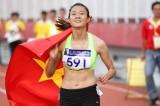Lê Tú Chinh đoạt HCV chạy 200m trẻ châu Á
