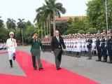Việt Nam-Pháp: Tăng cường quan hệ hợp tác quốc phòng