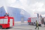 Cty TNHH RALS quốc tế Việt Nam diễn tập phương án chữa cháy