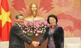 Chủ tịch Quốc hội tiếp Đại sứ Nga và Đại sứ Nhật Bản tại Việt Nam
