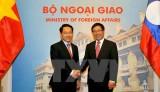 Việt Nam-Lào đảm bảo lập trường chung của ASEAN về Biển Đông