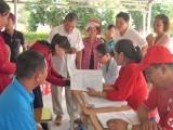 Cần Giuộc: 160 hộ gia đình bị ảnh hưởng bởi hạn, mặn xâm nhập được hỗ trợ