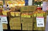 Gian nan đưa gạo Cỏ May vào siêu thị Singapore