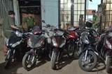 Đức Hòa: Tạm giữ 16 xe môtô bị mài số khung, số sườn