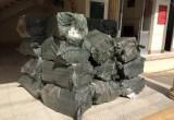 Đức Huệ: Bắt quản lý 14.200 gói thuốc lá ngoại nhập lậu