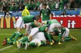 Bắc Ireland đánh bại Ukraine dưới cơn mưa đá