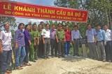 Thủ Thừa: Khánh thành cầu giao thông nông thôn